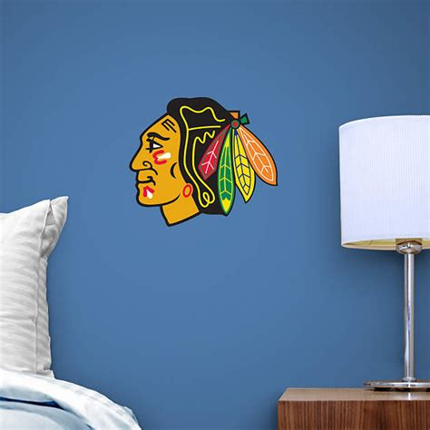 Blackhawks Fathead Giveaway - small chicago blackhawks teammate decal shop fathead 174 for chicago blackhawks graphics