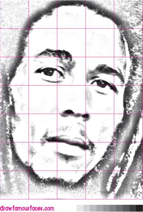 How To Draw Bob Marley how to draw bob marley draw faces