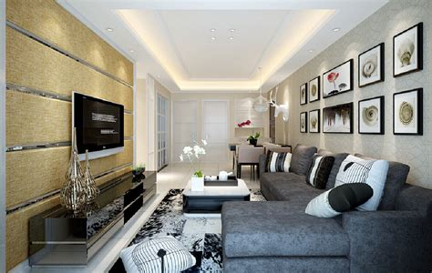 3d living room 3d living room wallpaper interior design