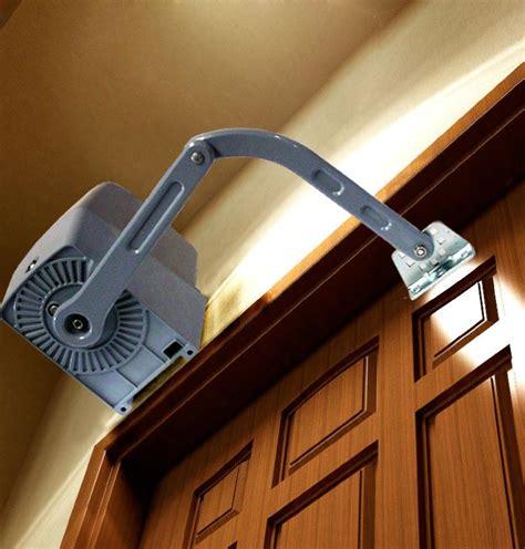 swing door operator estate swing medium duty carriage door opener kit