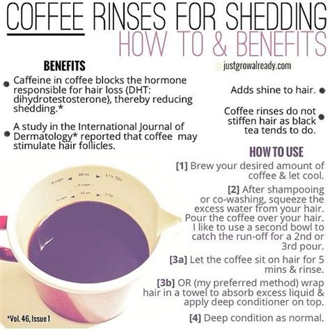 What Can I Give For Shedding by Coffee Rinses For Shedding How To And Benefits Hmmm