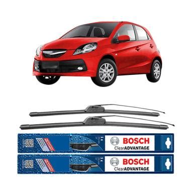 Karet Wifer Belakang Brio Ori jual bosch new clear advantage frameless wiper for honda brio 22 dan 14 inch harga