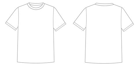 T Shirt Template Png High Quality Image Png Arts T Shirt Template Png