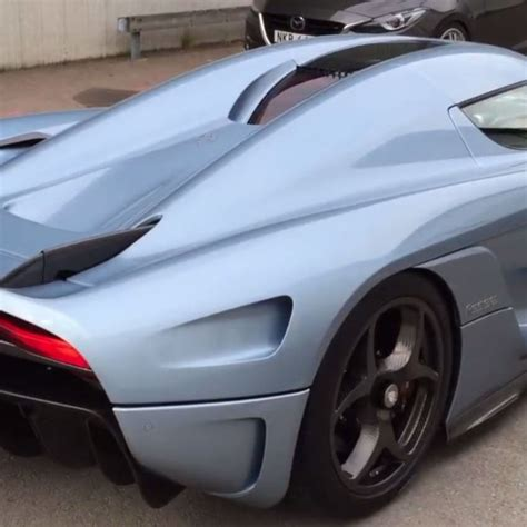 Koenigsegg Replica For Sale The New Koenigsegg Regera Supercar In Motion
