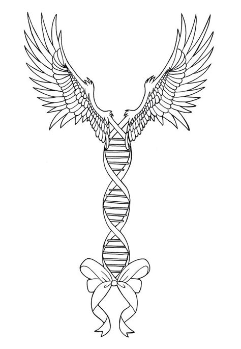 double helix tattoo design by maple gunman on deviantart