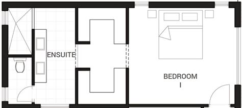ensuite bathroom floor plans bedrooms the walk through plans to inspire pinterest