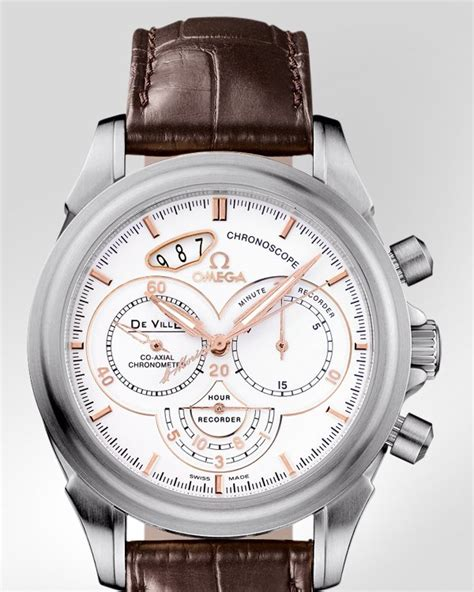 replica omega c 16 omega de ville chronoscope co axial chronograph 41 mm