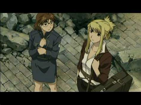 fullmetal alchemist brotherhood edward and winry kiss edward winry kiss from the rose youtube