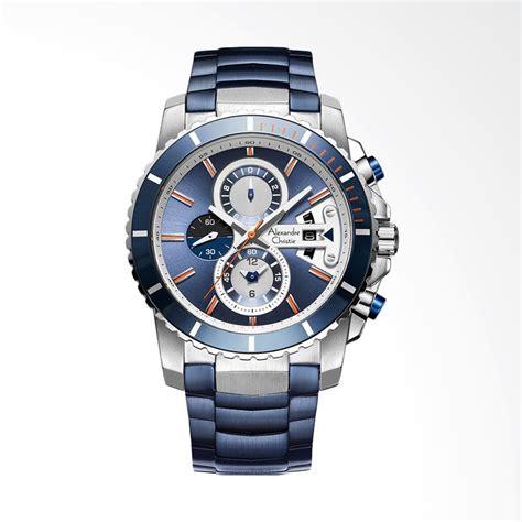 Alexandre Christie 1430092 Chronograph Jam Tangan Pria Silver Biru 1 jual alexandre christie blue chronograph blue jam tangan pria blue silver acf 6455