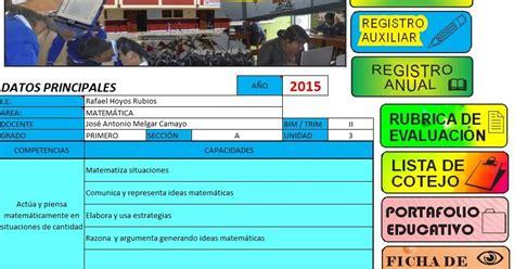 minedu registro de evaluacion primatia descargar registro auxiliar virtual e instrumentos de