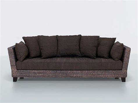 fiber sofa comfortable 3 seater sofa from natural fibers by yves dever