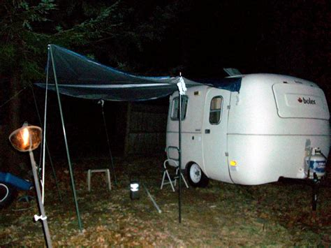 Fiberglass Awning Poles by Cool Awning Option For Those 13 Foot Boler Types Fiberglass Rv
