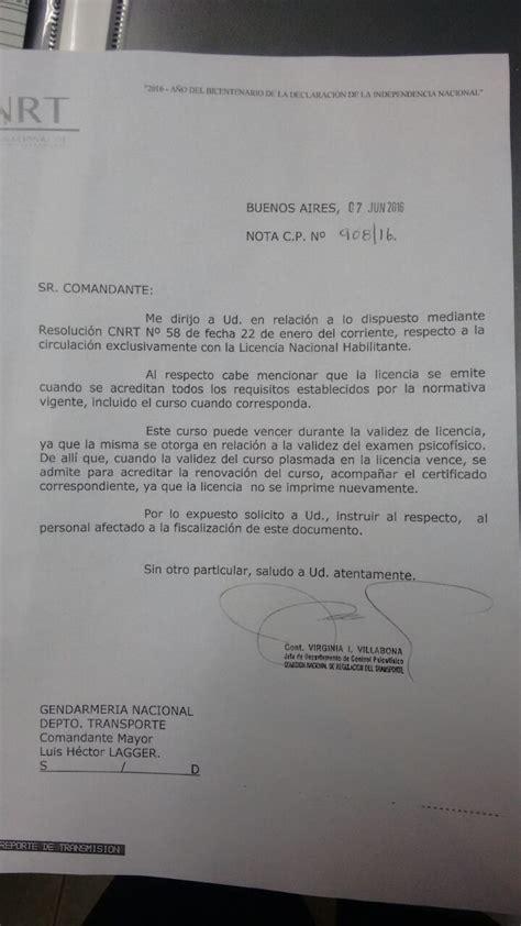 licencia nacional habilitante cnrt licencia nacional habilitante informaci 243 n de inter 233 s