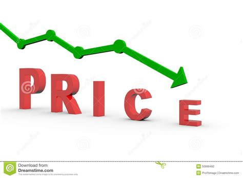 scow prices price reduction stock illustration image 50999492