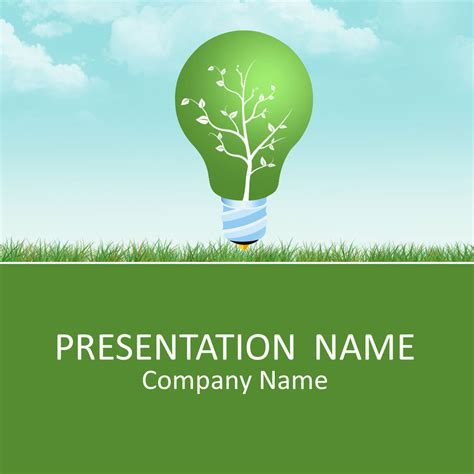 Green Energy Powerpoint Template Environment Powerpoint Templates Pinterest Ppt Template Environmental Powerpoint Templates
