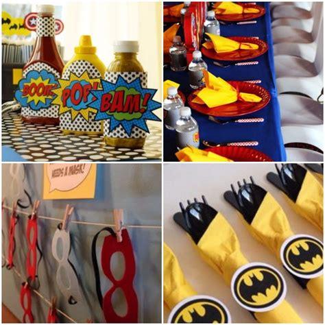 imagenes cumpleaños batman invitaciones infantiles e ideas para decorar un cumplea 209 os