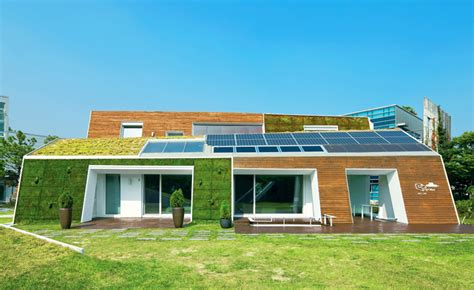 green home builders e is a verdant south korean home blanketed in greenery