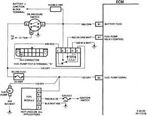 gm fuel pump wiring diagram 1987