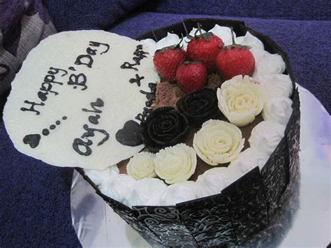 Dusting Coklat quot new experience in baking quot chocolate truffle cake