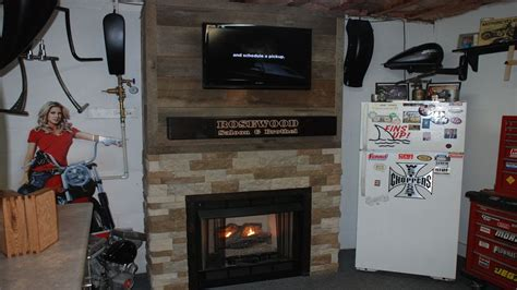 Build a Fireplace Surround with Reclaimed Barnwood   YouTube