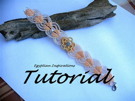 Micro Macrame Patterns - micro macrame tutorial pattern beaded bracelet tutorial