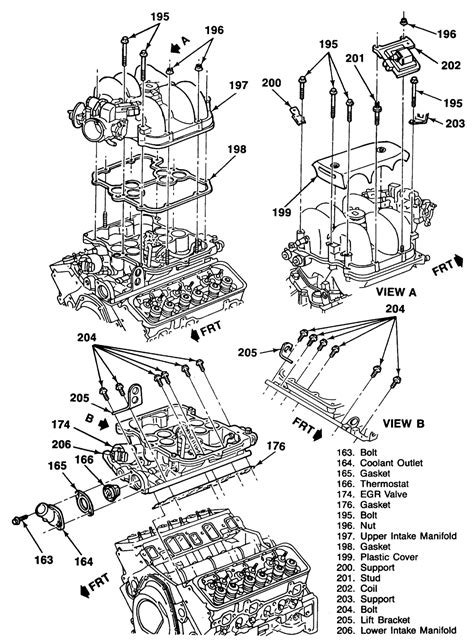 4 3 vortec engine diagram 4 3l v6 vortec engine parts diagram 4 free engine image