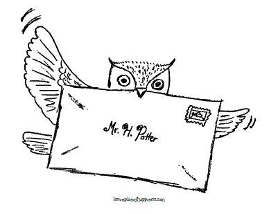 harry potter owl coloring pages tattoos harry potter on pinterest harry potter tattoos