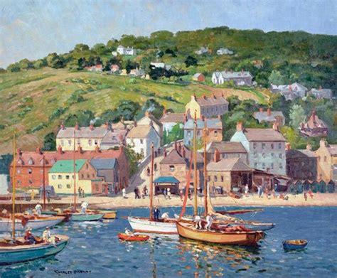 fishing boat auction melbourne paintings charles david jones bryant australian art