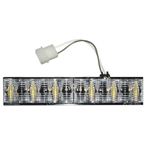 Led Light Bar Replacement Parts Buyers 3024636 6 Led D Fuser Clear Corner Light Bar Replacement Module 62 04
