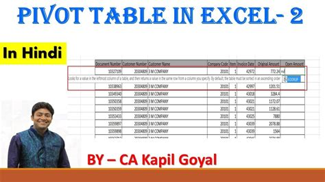 excel tutorial 2010 in hindi advance pivot table brokeasshome com