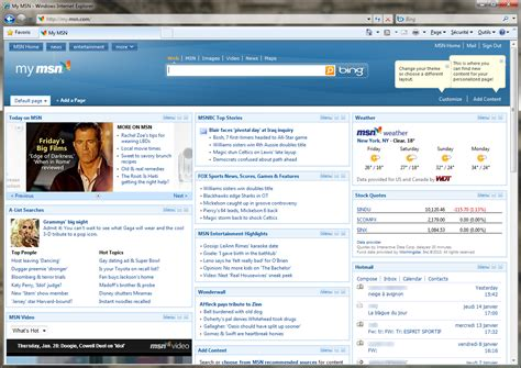 msn com msn com my home bing images