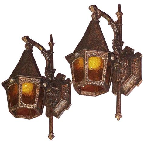 1930s Outdoor Lighting Storybook Style Porch Lights Circa 1930 At 1stdibs