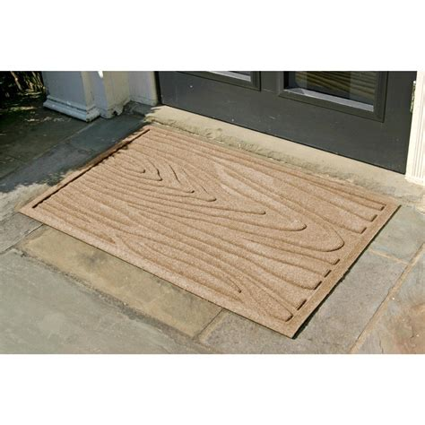 bungalow flooring bungalow flooring 174 waterguard quot tree bark quot 2 x3 door mat