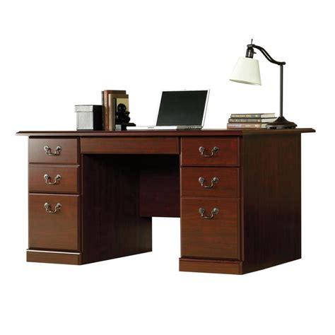 Sauder Laptop Desk by Shop Sauder Heritage Hill Classic Cherry Computer Desk At