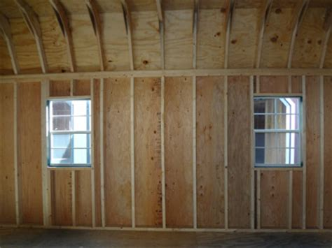 Pre Made Shed Doors by Storage Shed Depreciation Amish Shed Construction