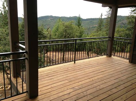 railing outdoor deck railing for safety