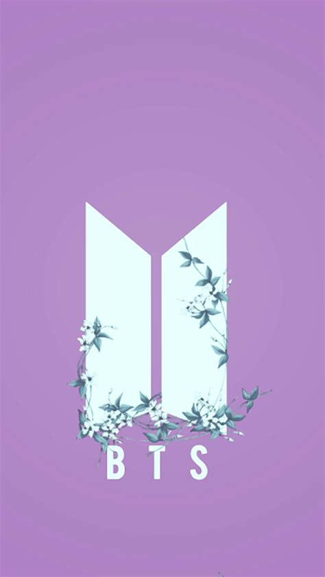 bts logo wallpaper phone bts nuevo logo wallpaper k pop pinterest bts