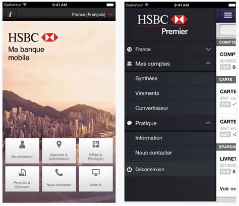 hsbc mobile insurance dossier applications iphone et les banques