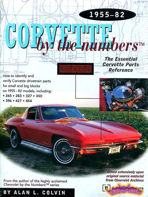 chevrolet parts numbers corvette book by the numbers parts manual chevrolet ebay