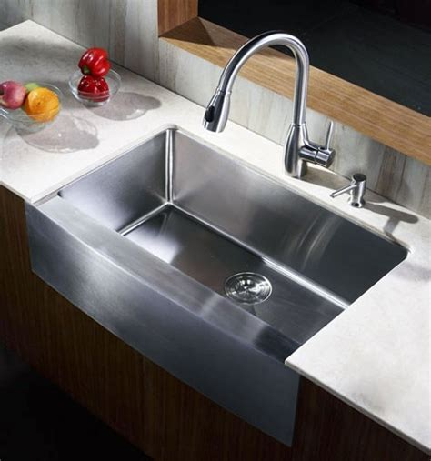 small farmhouse sink 33 quot ecosus 174 stainless steel kitchen farmhouse sink small
