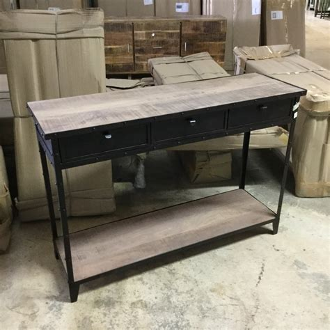 console table with wheels iron console table with wheels nadeau nashville