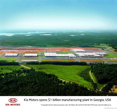 kia manufacturing plant kia opens its us manufacturing plant photos