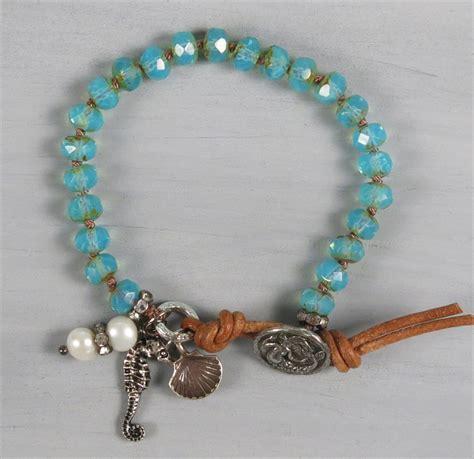 Beaded Bangles Handmade - handmade boho mermaid bracelet handmade jewelry