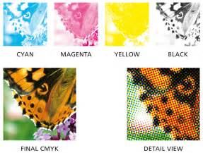 what is a process color difference between spot color and cmyk color