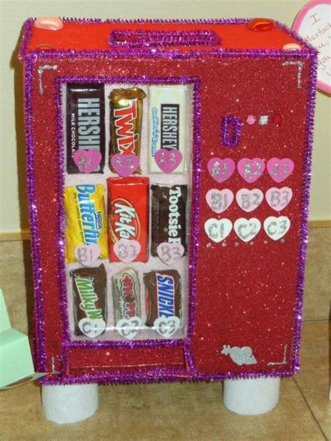 cool valentines box ideas bag box vending machine diy things i ve