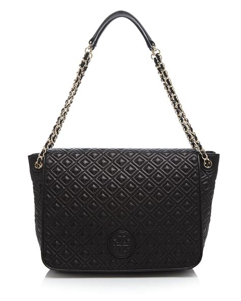 Burch Quilted Bag by Burch Shoulder Bag Marion Quilted Large In Black Lyst