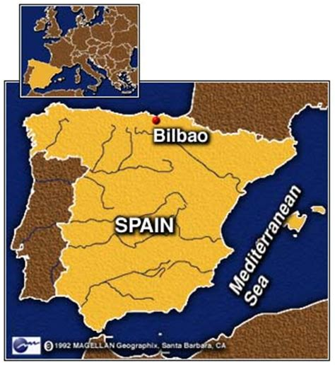 Bilbao Spain Map by Cnn Security Tight Before Guggenheim Museum Opens In