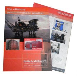 leaflet design glasgow simpson s brochure pack graphic design print design