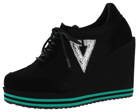 volatile rappin s platform wedge sneakers shoes ebay