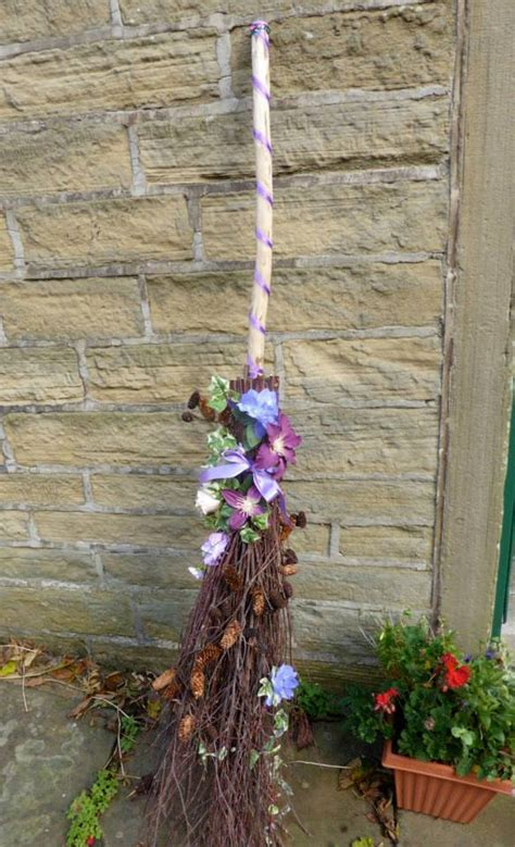 how to make a wedding broom for a jumping time offbeat